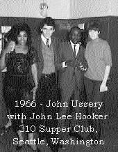 John with John Lee Hooker